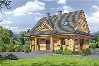Projekt domu Jurgów 5 dw