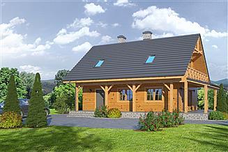 Projekt domu Świdnica 36 dws