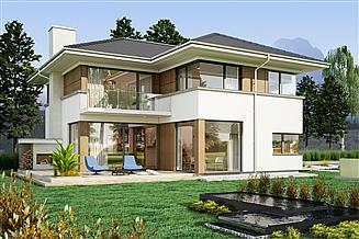 Projekt domu AJR_21_A2
