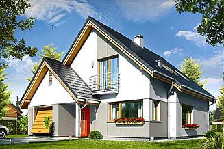 Projekt domu Konwalia