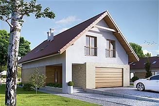 Projekt domu Amarylis 2