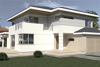 Projekt domu DN 021h z podpiwniczeniem