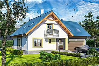 Projekt domu Puk 2 G2