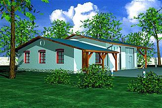Projekt budynku gospodarczego BR-050