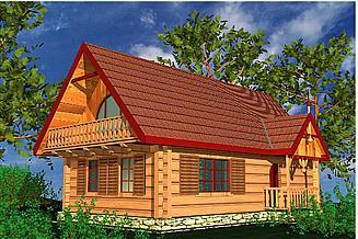 Projekt domu BR 004drb