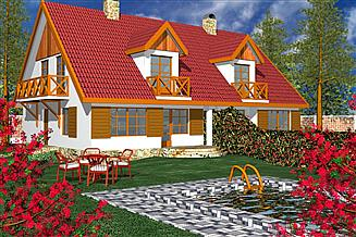 Projekt domu BR 012dwa