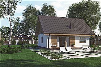 Projekt domu Murator C333 Miarodajny