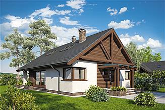 Projekt domu Pelikan XVI
