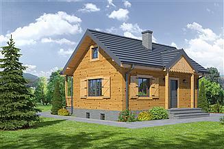 Projekt domu Hoczew mała 9 dws