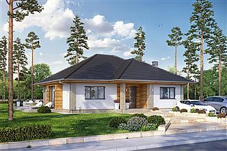 Projekt domu California 2