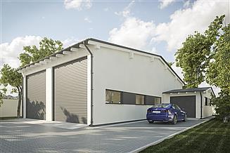 Projekt garażu G251 - Budynek garażowy