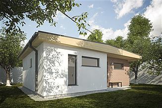 Projekt domu letniskowego G255 - Budynek rekreacji indywidualnej