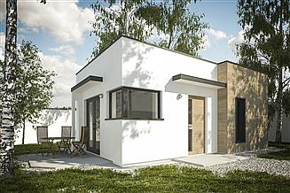 Projekt domu letniskowego G254 - Budynek rekreacji indywidualnej