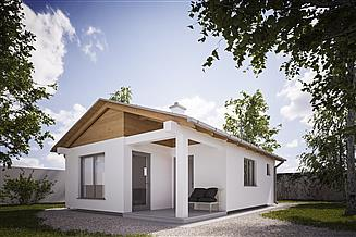 Projekt domu letniskowego G250 - Budynek rekreacji indywidualnej