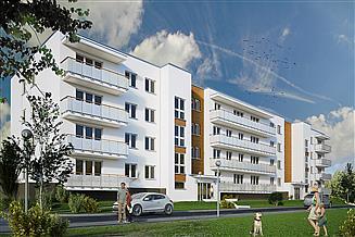 Projekt budynku wielorodzinnego Spokojny