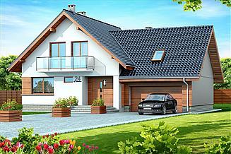 Projekt domu Noelia BIS 2M