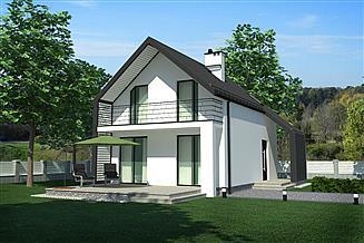 Projekt domu BB01