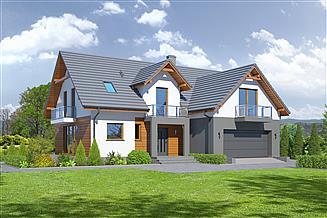 Projekt domu Miłocin 5