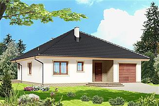 Projekt domu Serafin 2 paliwo stałe