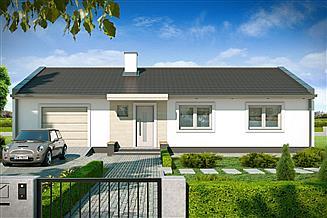 Projekt domu Simple 3A garaż