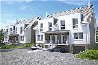 Projekt domu Everett II DCBL36a