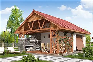Projekt budynku gospodarczego BG-02