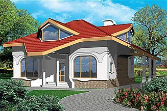 Projekt domu Alabaster