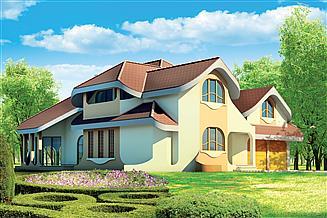 Projekt domu Malachit 2