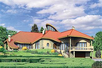 Projekt domu Oriol