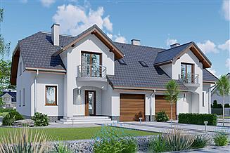 Projekt domu APS 107 dwulokalowy