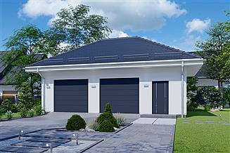 Projekt garażu APG 30