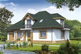 Projekt domu BW-40 wariant