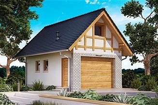 Projekt budynku gospodarczego BGR-03 budynek gospodarczy
