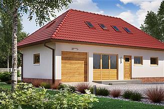 Projekt budynku gospodarczego BGR-05 budynek gospodarczy