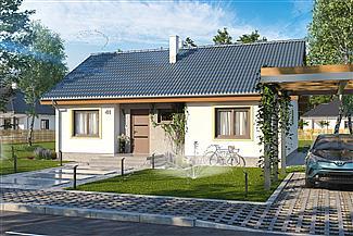 Gotowe Projekty Domow Domy Parterowe Pietrowe Z Poddaszem