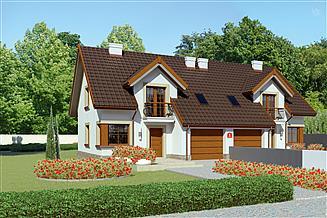 Projekt domu Dom przy Amarantowej