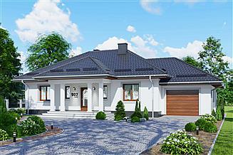 Projekt domu APS 207 + G