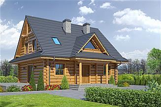 Projekt domu Jurgów 15 dw
