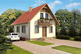 Projekt domu Domek Mały (004 ES)