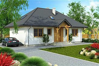 Projekt domu Domek Kaszubski (014 SOK)