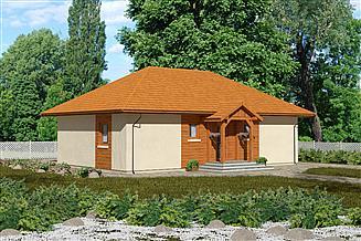 Projekt domu Domek Kaszubski (014 PS)