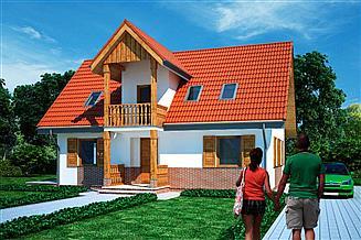 Projekt domu WB-1107