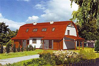 Projekt domu WB-3491