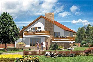 Projekt domu W-028