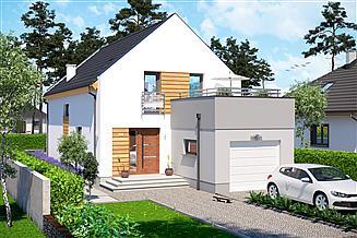 Projekt domu Slim