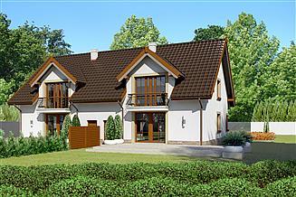 Projekt domu Dom przy Amarantowej 2