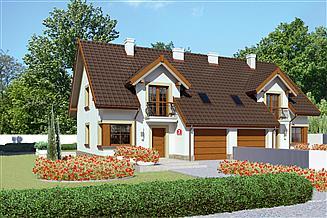 Projekt domu Dom przy Amarantowej 3