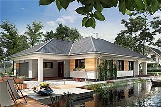Projekt domu Koniczynka Polo G2 - murowana – beton komórkowy