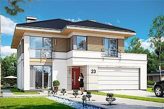 Projekt domu Tytan 4