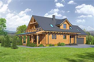 Projekt domu Osiek 88cx